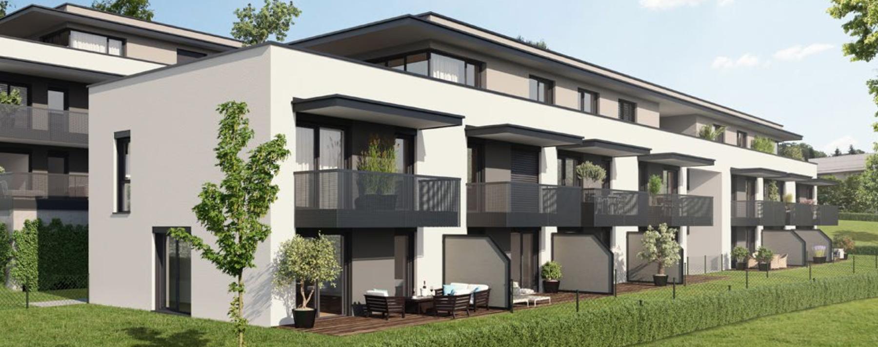 ST.-PETER: Neubau-Penthouse-Wohnung mit großer Terrasse in Grünlage!
