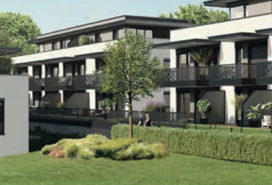 ST.-PETER: Neubau-Wohnung mit Eigengarten in Grünlage!