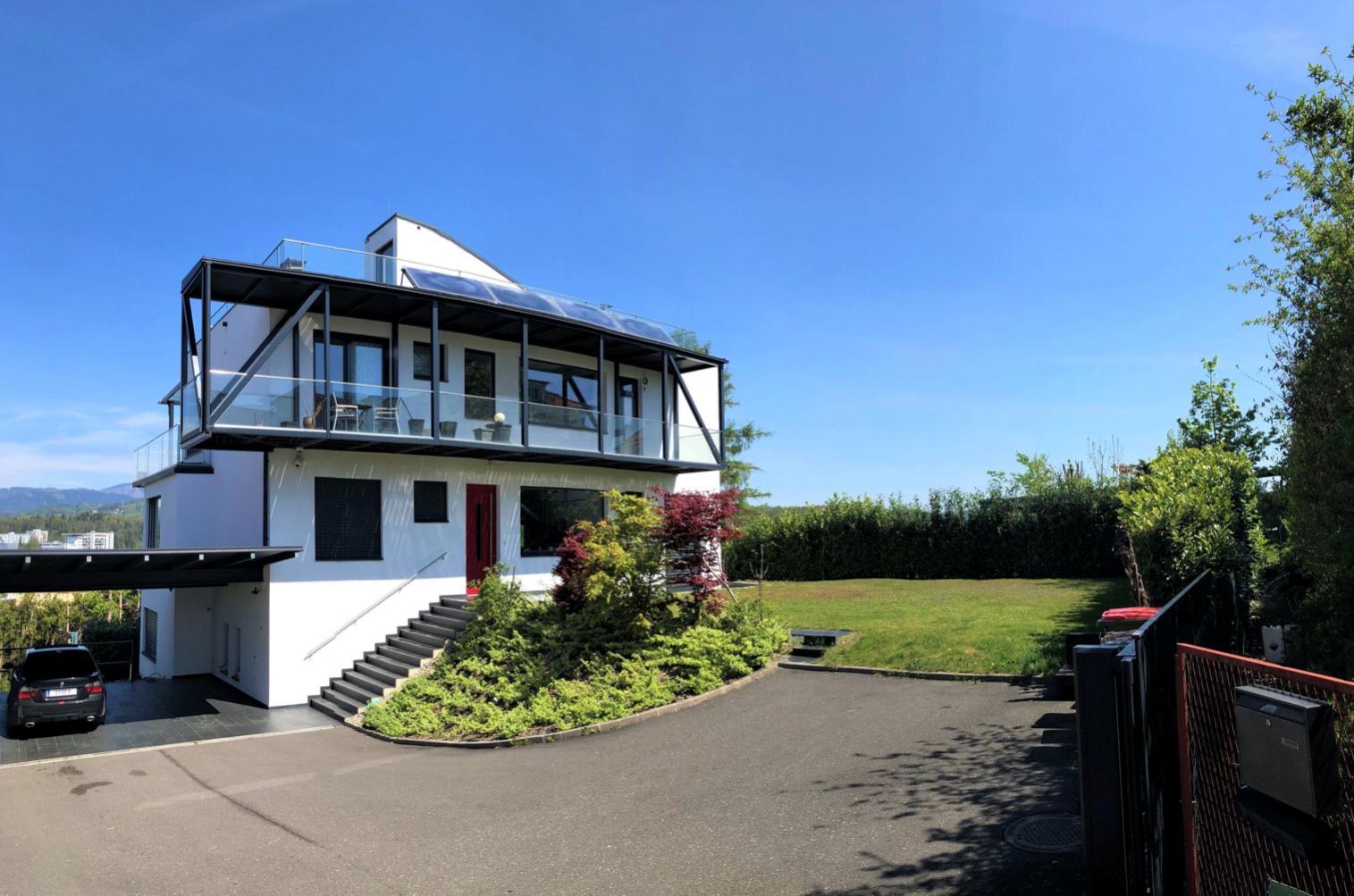 ÜBER DEN DÄCHERN VON GRAZ: Einzigartige Stadtvilla am Ruckerlberg!