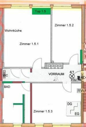 """3 Zimmer Wohnung mit Terrasse und """"Wintergarten"""""""