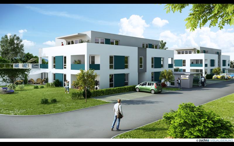 Geförderte Genossenschaftswohnungen mit Eigengarten in Mietkauf - NEUBAU