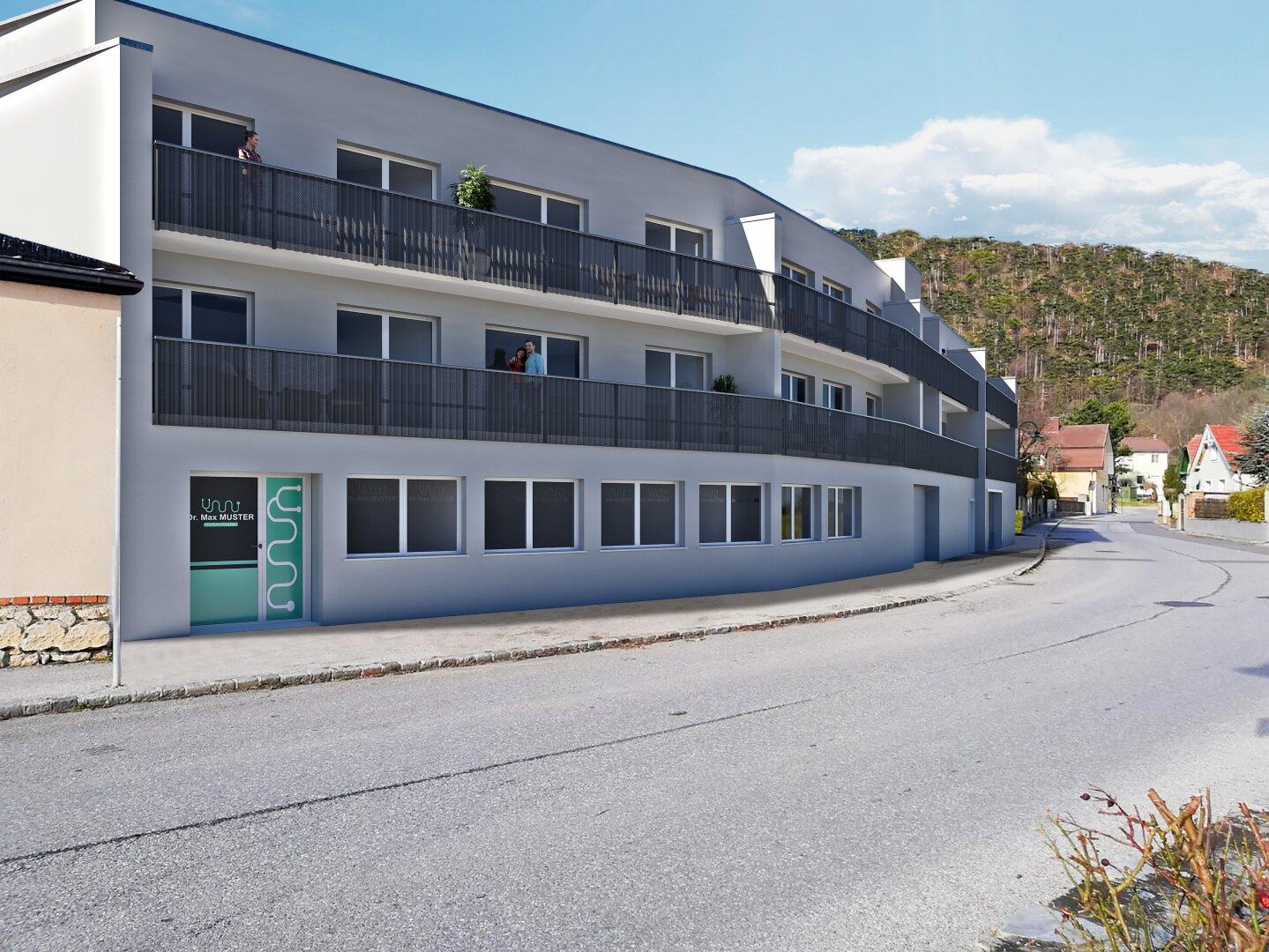 Neue Eigentumswohnung mit Balkon und Garagenstellplatz ###PROVISIONSFREI###