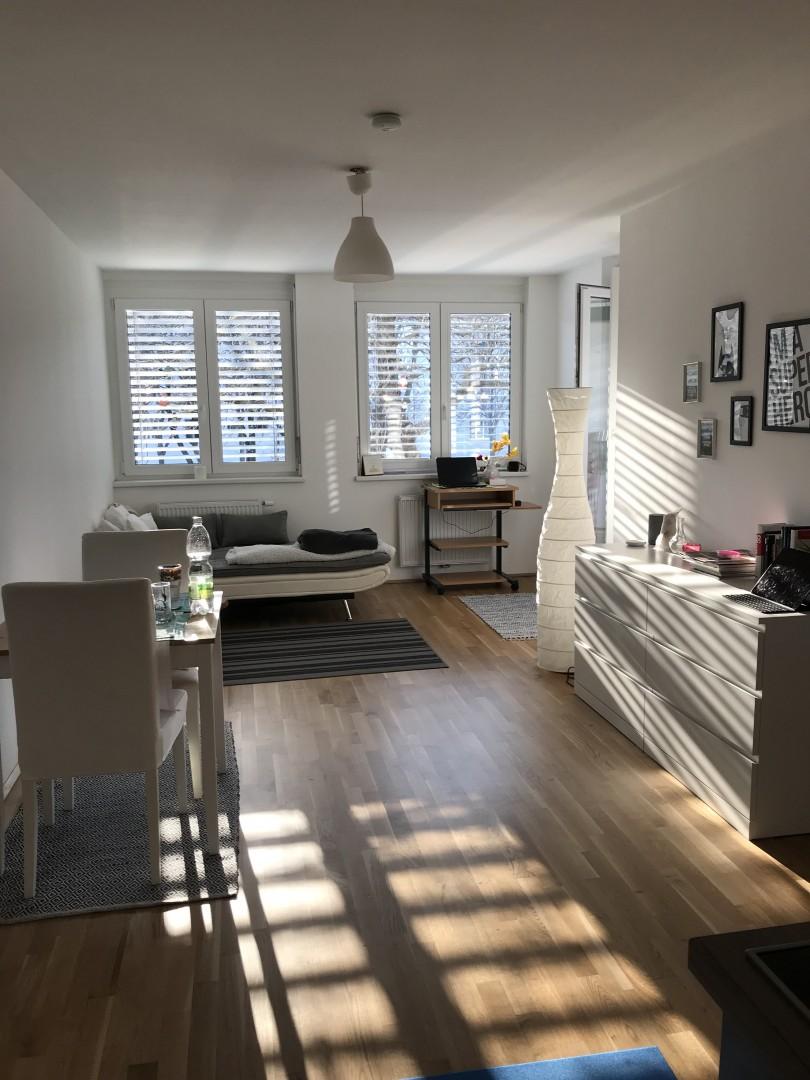 Neuwertige 2-Zimmerwohnung inklusive Garagenstellplatz!