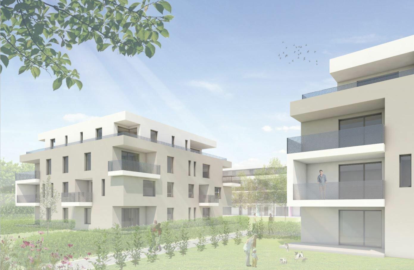 Geförderte Genossenschaftswohnung mit Eigengarten - Miete mit Kaufrecht