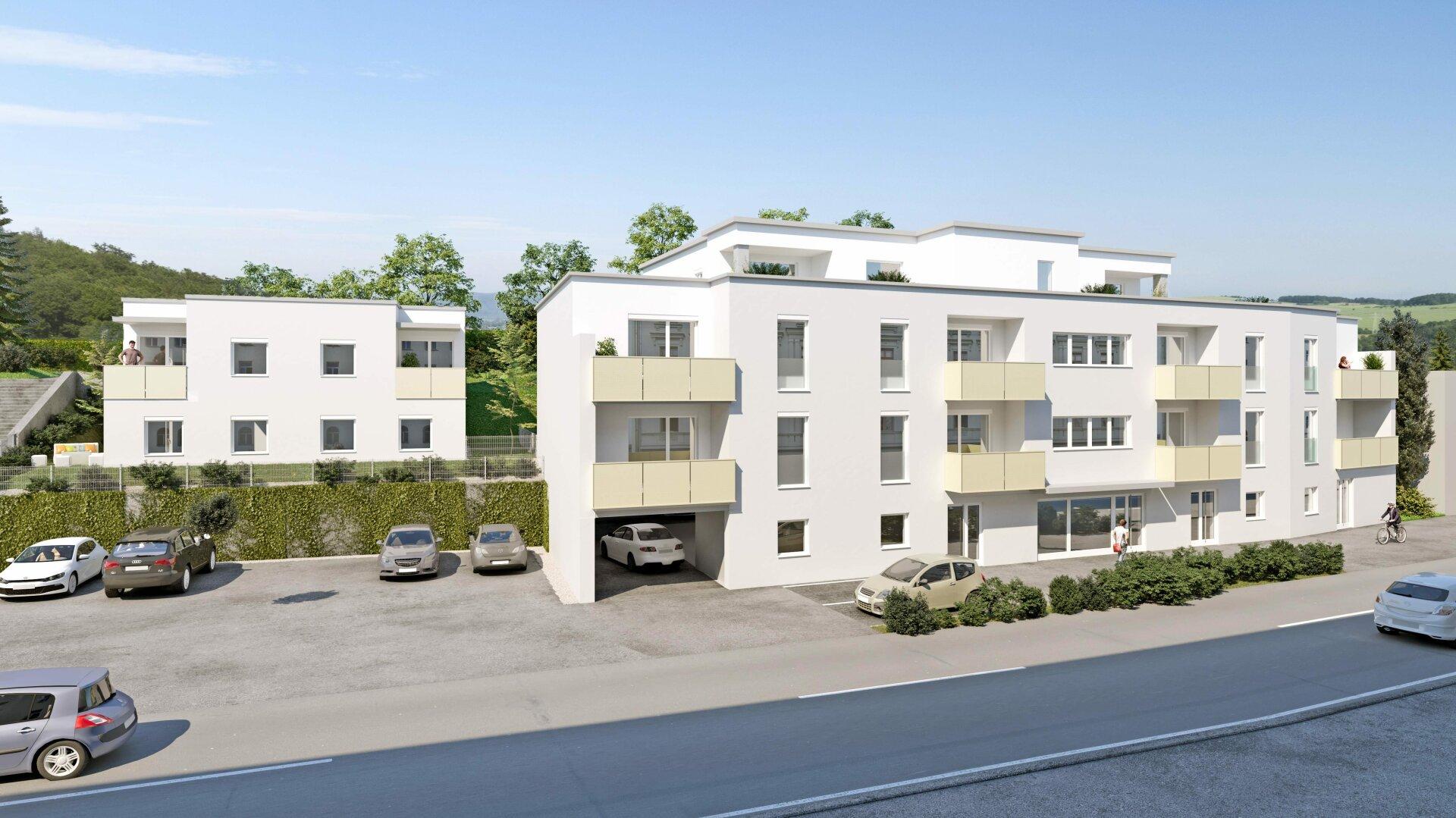 Geförderte Genossenschaftswohnung mit großer Dachterrasse - MIETE MIT KAUFOPTION